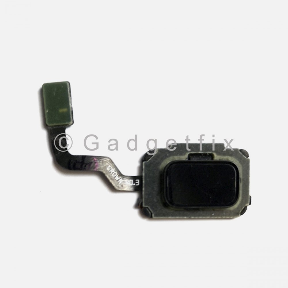 Black Fingerprint Scanner Sensor Button Flex For Samsung Galaxy Note 9