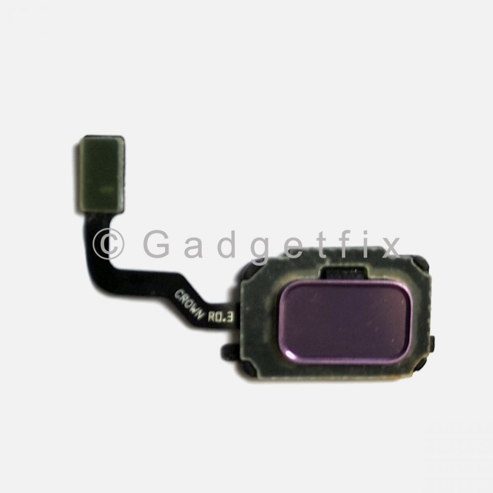Purple Fingerprint Scanner Sensor Button Flex For Samsung Galaxy Note 9