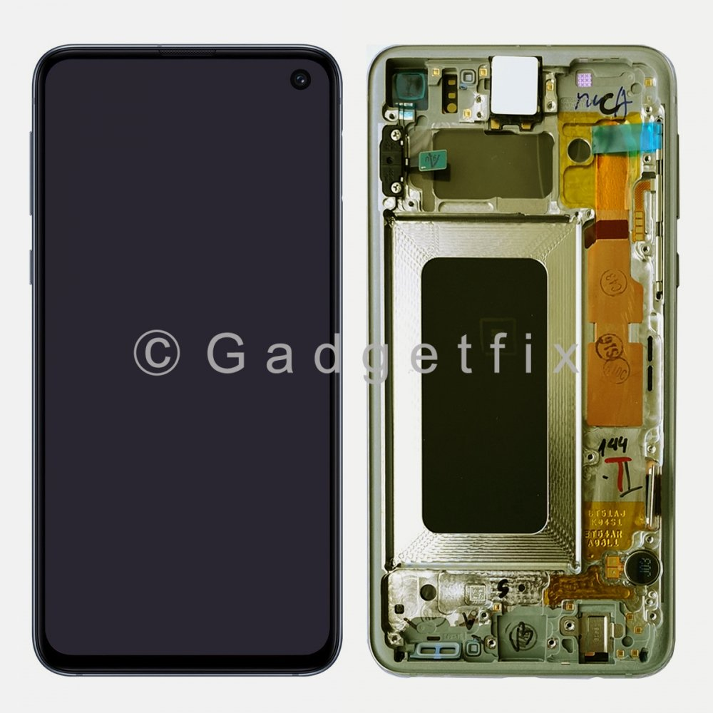 Yellow Amoled LCD Display Touch Screen Digitizer + Frame Samsung Galaxy S10e