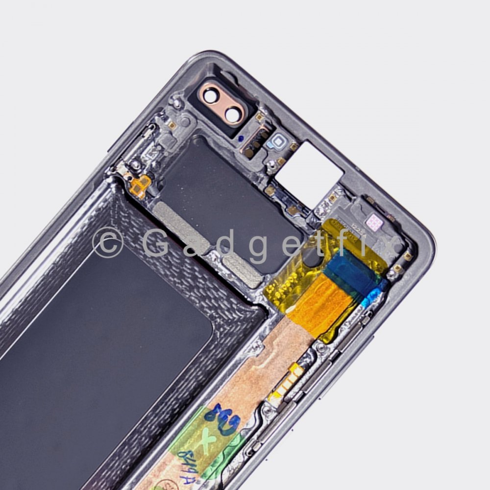Prism Blue Display LCD Touch Screen Digitizer Frame For Samsung Galaxy S10 Plus