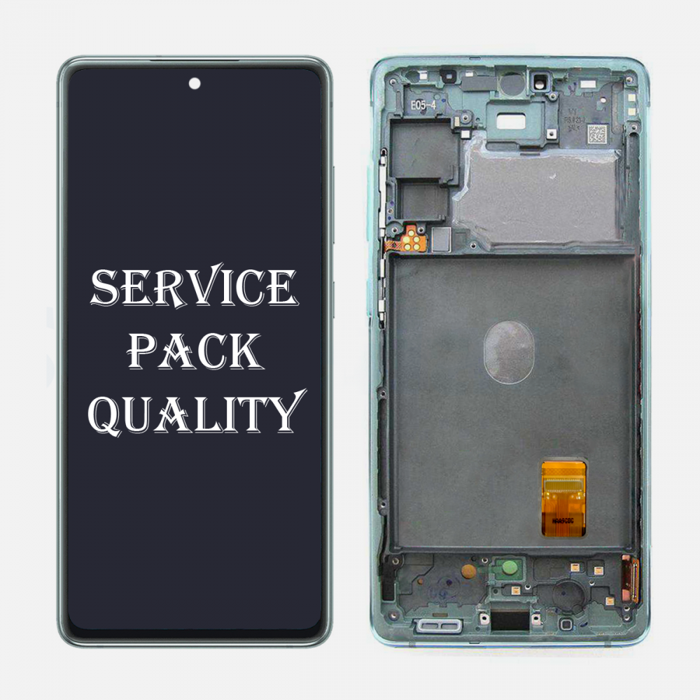 Mint Samsung Galaxy S20 FE 5G OLED Display LCD Touch Screen Digitizer + Frame (Service Pack)