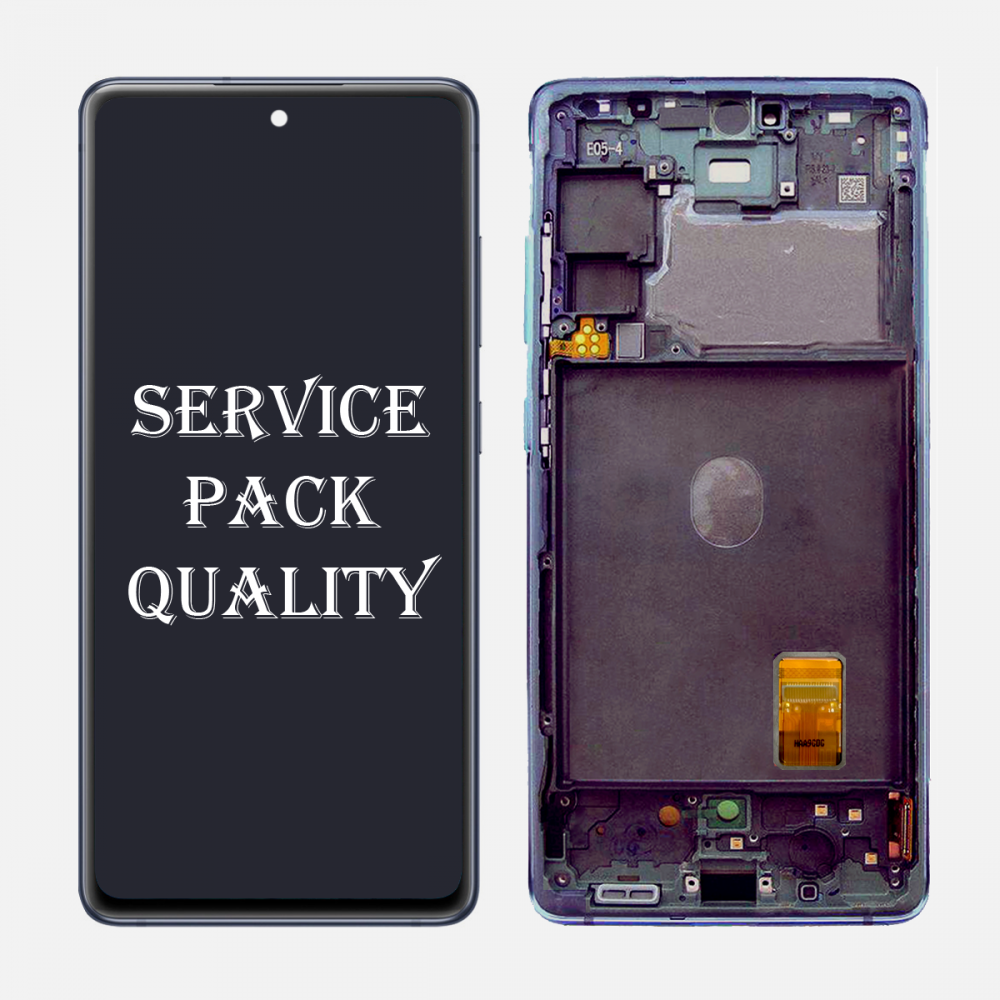 Navy Samsung Galaxy S20 FE 5G OLED Display LCD Touch Screen Digitizer + Frame (Service Pack)