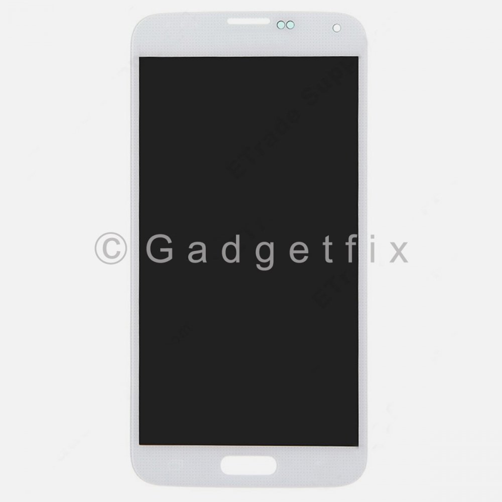 White Samsung Galaxy S5 G900A G900T G900V G900P G900F LCD Touch Screen Digitizer
