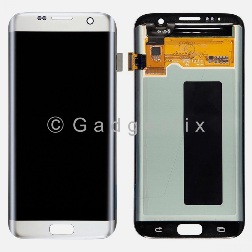 White Samsung Galaxy S7 Edge G935 G935A G935T G935V G935P G935F LCD Touch Screen Digitizer