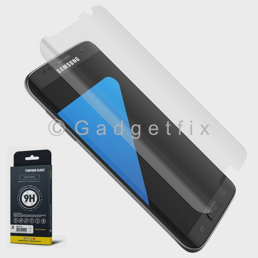9H Premium Tempered Glass LCD Screen Protector Guard For Samsung Galaxy S7 Edge