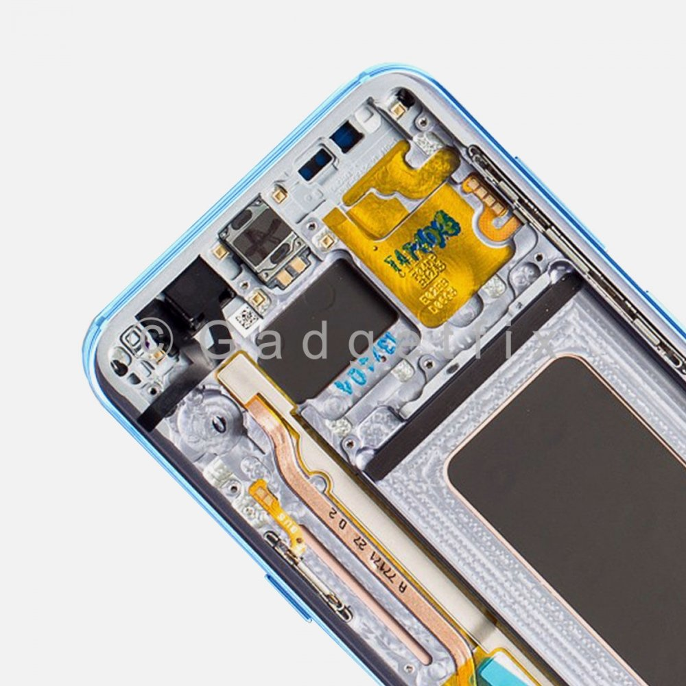 Blue LCD Display Touch Screen Digitizer + Frame For Samsung Galaxy S8