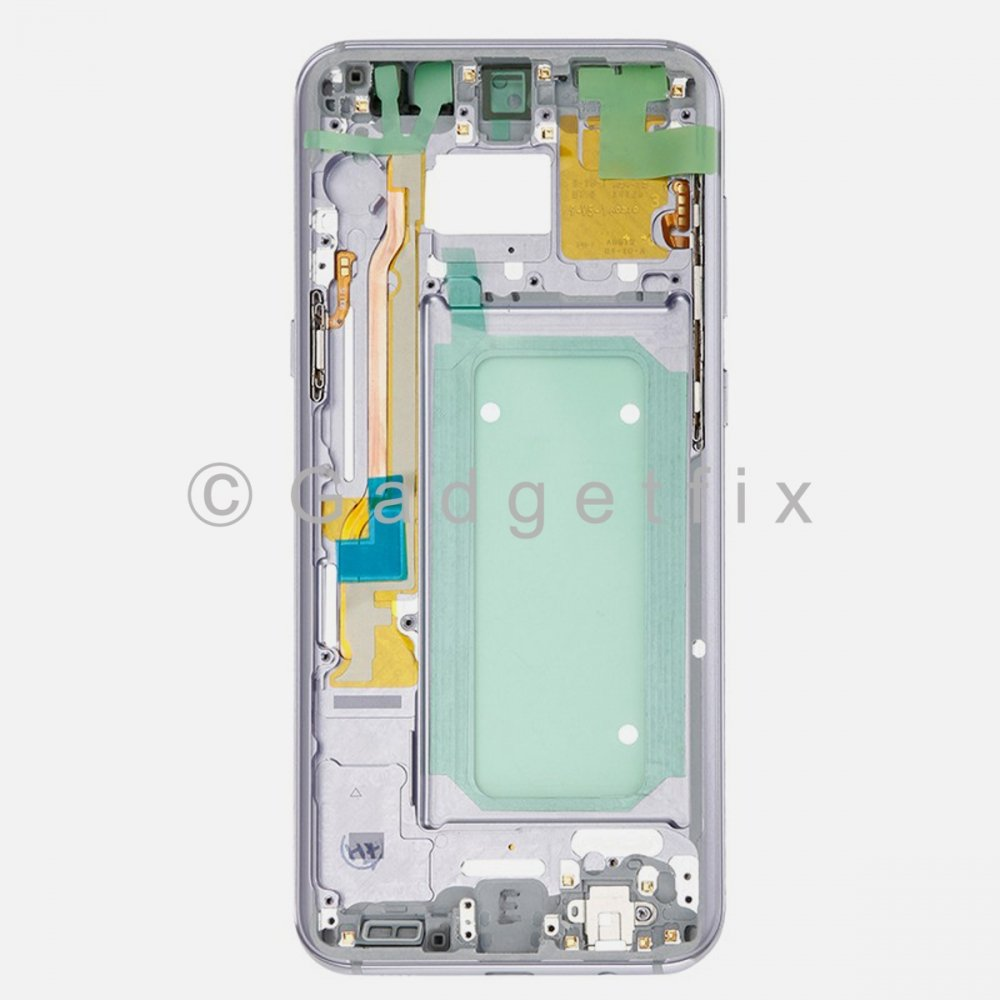 Gray Samsung Galaxy S8 Plus G955V G955P Middle Housing Frame Bezel Mid Chassis