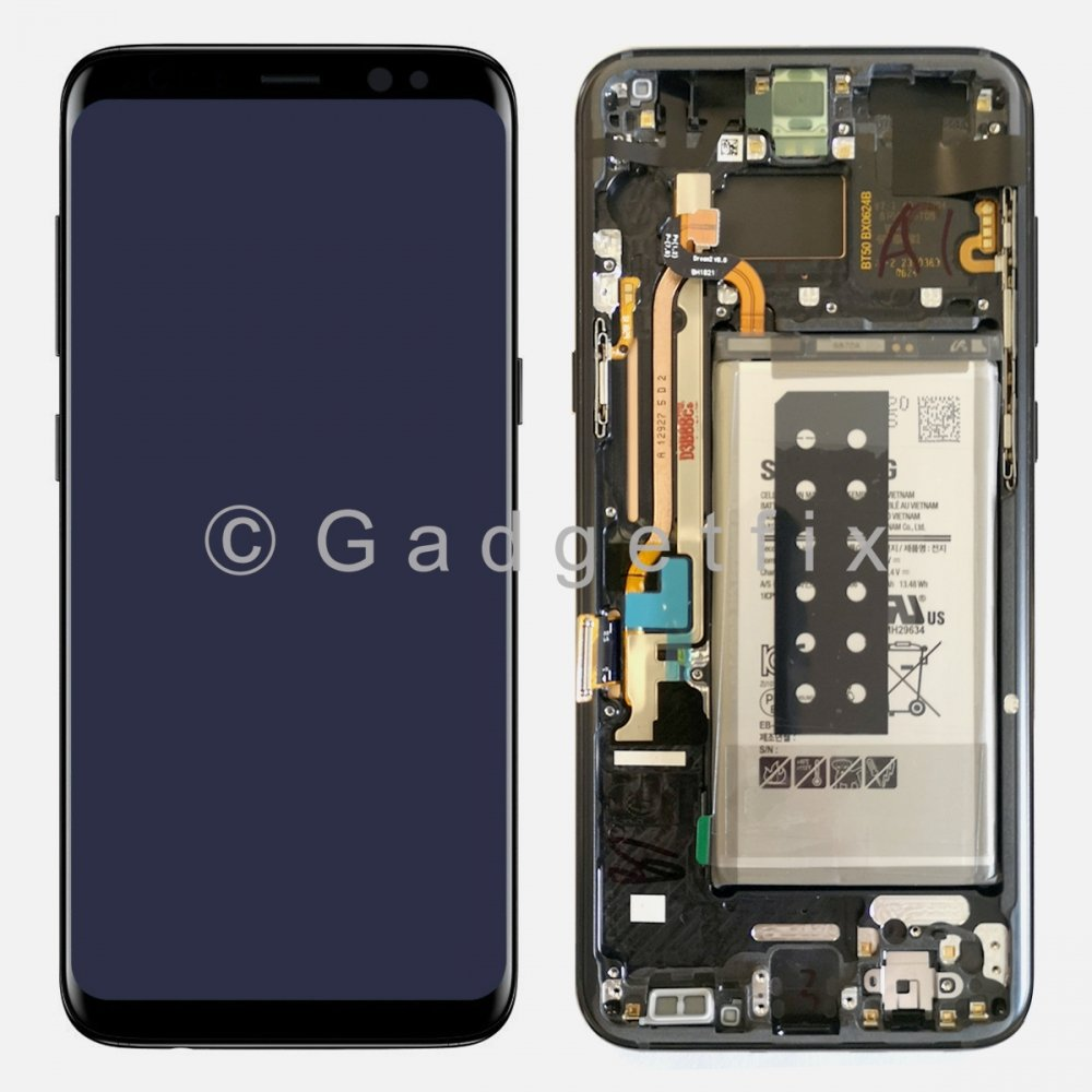 Samsung Galaxy S8 Plus LCD Display Touch Screen Digitizer + Battery (Service Box)