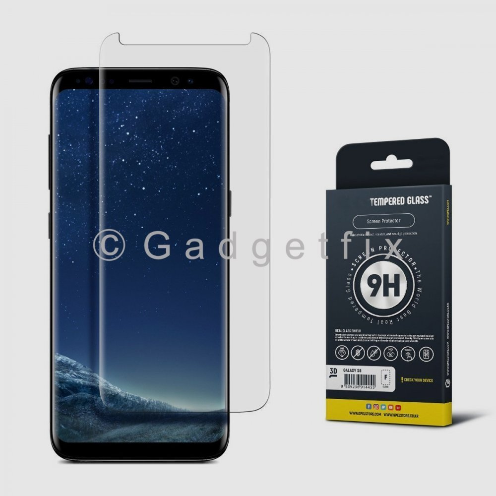 9H Premium Tempered Glass LCD Screen Protector Guard For Samsung Galaxy S8