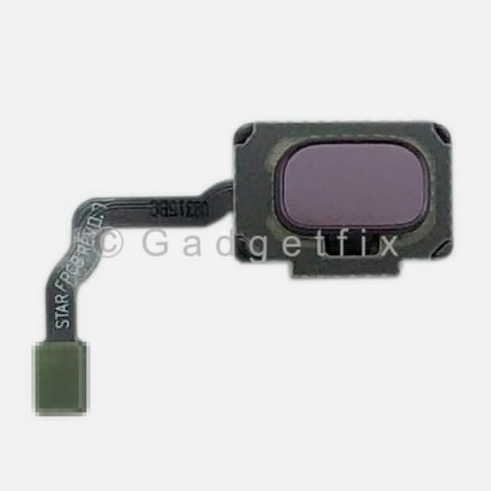 Purple Fingerprint Scanner Reader Sensor Button Flex For Samsung Galaxy S9 Plus