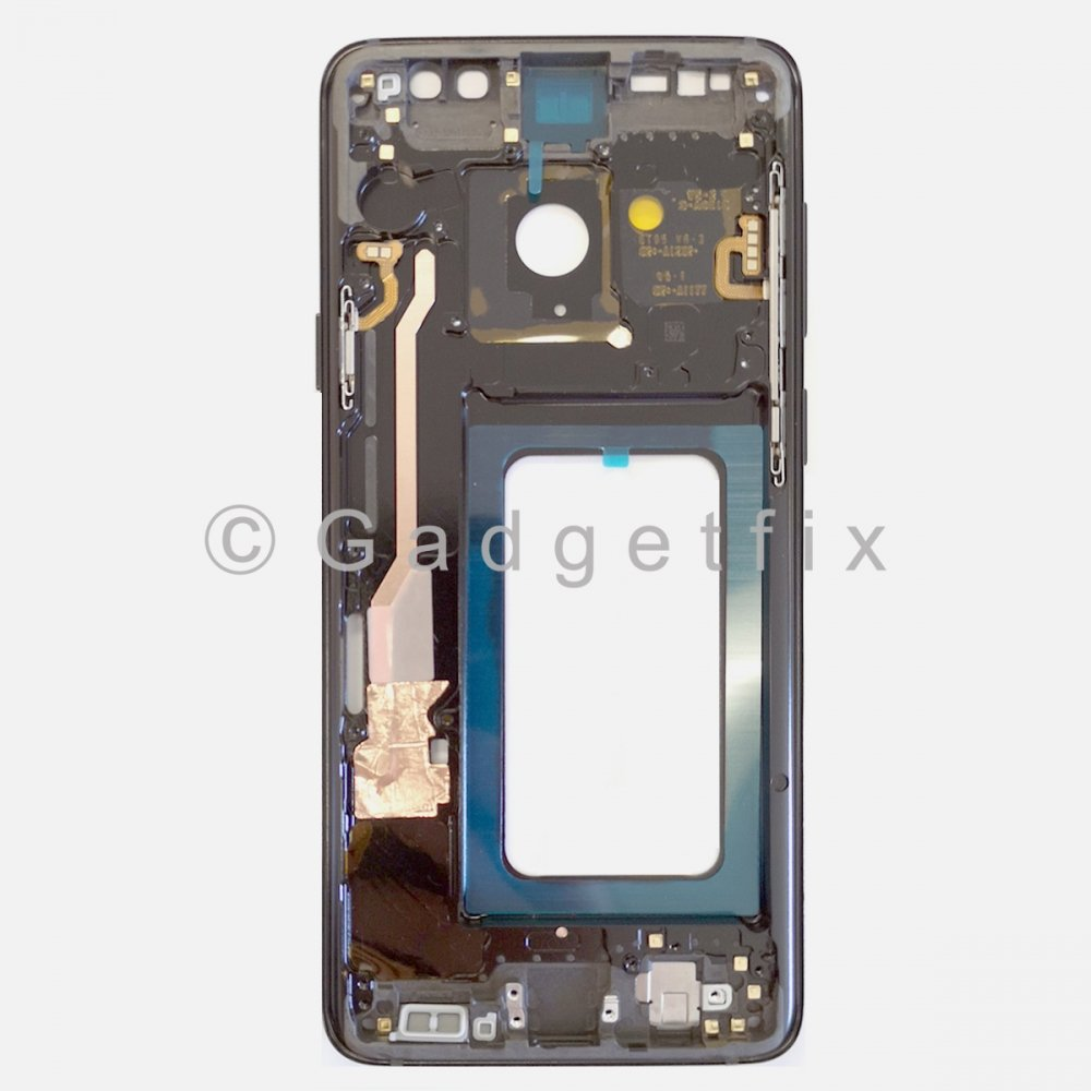 Gray Samsung Galaxy S9 Plus Middle Housing Frame Bezel Mid Chassis