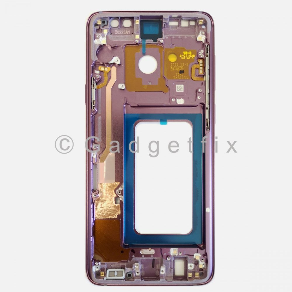Purple Samsung Galaxy S9 Plus Middle Housing Frame Bezel Mid Chassis