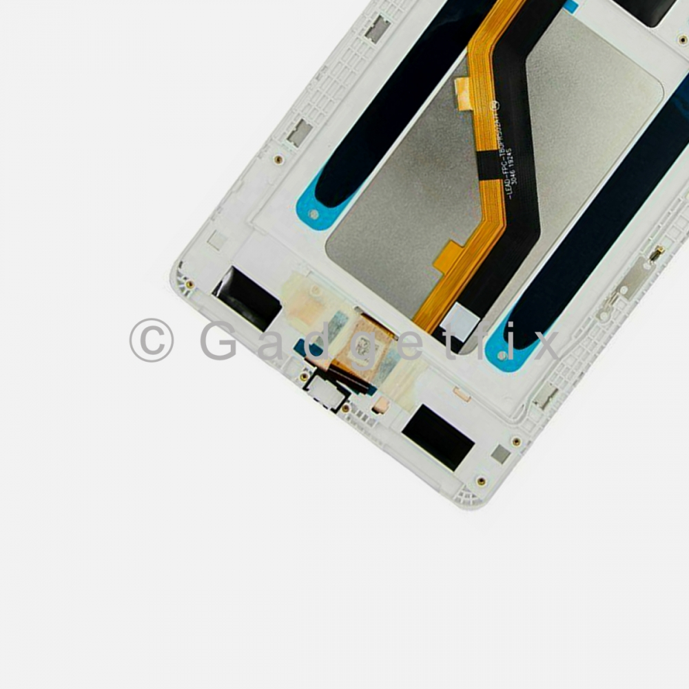 """White Display LCD Touch Screen Digitizer Frame For Galaxy Tab A 8.0"""" (2019) SM-T290 (Wifi)"""