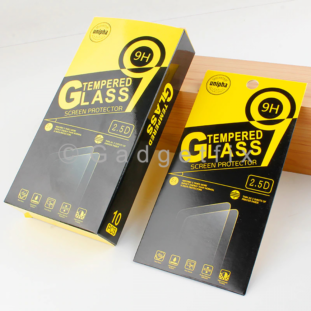 Lot 10 x 12 Pro Max 9H Premium Tempered Glass LCD Screen Protector Guard