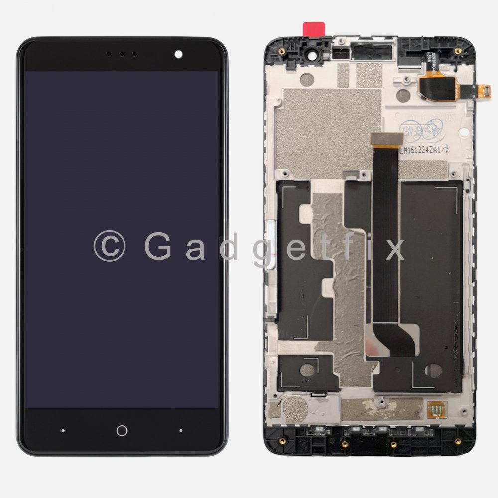 5.5'' LCD Display Touch Screen Digitizer + Frame For Cricket ZTE Grand X 4 Z956